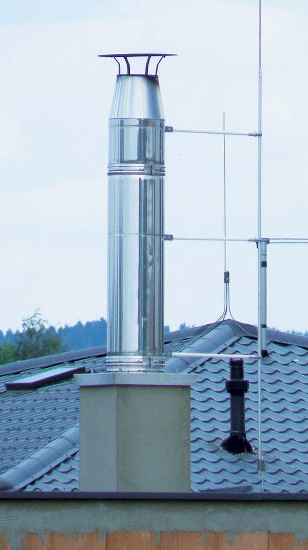 Дымоход HELUZ GAS - газообразное топливо