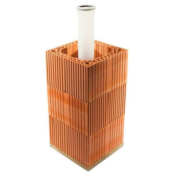 Дымоход HELUZ GAS - жидкое топливо