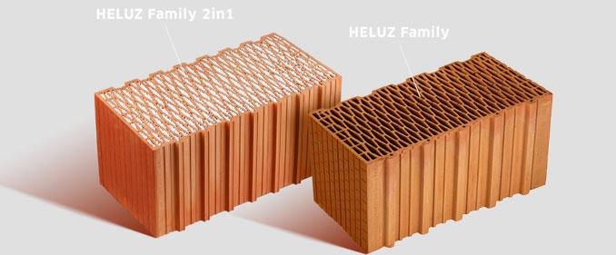 Чому варто вибрати керамічний блок HELUZ, а не інший стіновий матеріал